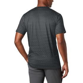 Columbia Tech Trail Print Maglietta girocollo a maniche corte Uomo, black ombre print